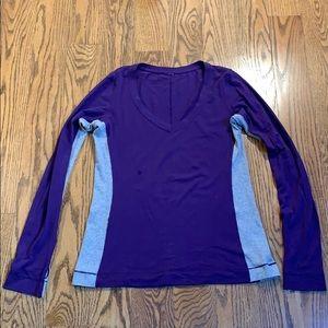 Lululemon long sleeve v neck shirt